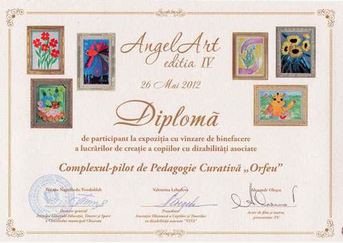 DIPLOMA ANGEL ART_2012